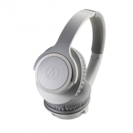 Audio Technica ATHSR30BT Wireless Headphones in Grey Front View