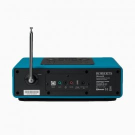 Roberts BLUTUNE 65 Marine Teal Bluetooth Sound System with Lightning Dock Back