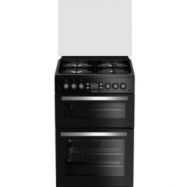 Blomberg GGN64Z 60cm Double Oven Gas Cooker Black