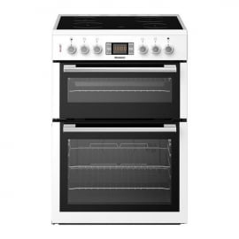 Blomberg HKN64W 60cm Double Oven Electric Cooker White