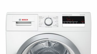 Bosch WTM85230GB Serie 4 Condenser Tumble Dryer with Heat Pump Front View