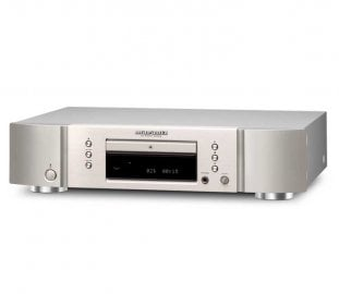 Marantz CD5005T1SG CD Player In Silver Gold Front View