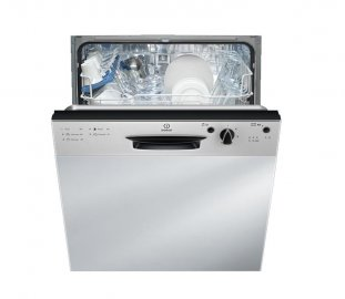Indesit DPG15B1NX Semi Integrated Dishwasher Stainless Steel