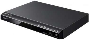 Sony DVPSR760 Region 2 DVD Player with HD Upscaling & USB Playback in Black