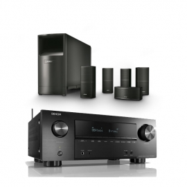 bose speakers with denon receiver