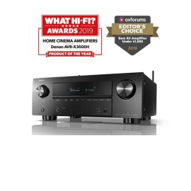Denon AVRX3600H 9.2 Channel Ultra HD Home Theatre AV Receiver works with Amazon Alexa Google Assistant Apple Siri and HEOS Built in with IMAX Enhanced
