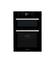 Indesit IDD6340BL Electric Double Built-in Oven