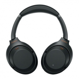 Sony WH1000XM3BCE7 Over Ear Wireless Noise Cancelling Headphones Black - front