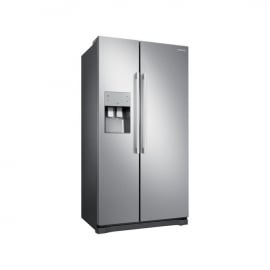 Samsung RS50N3513SL Freestanding American Style Fridge Freezer -profile