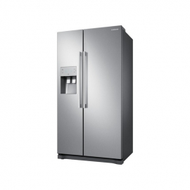 Samsung RS50N3513SL Freestanding American Style Fridge Freezer -profilereversed