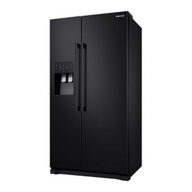 Samsung RS3000 RS50N3513BC American-Style Fridge Freezer - Black -profile