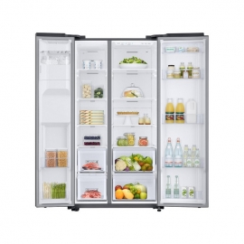 Samsung RS68N8220S9 American Style Fridge Freezer - Silver -openwithfood