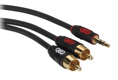 QED Profile J2P Jack-to-Phono 1M Cable QE5081