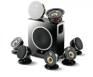 Focal Dome Flax 5.1.2 Home Cinema System in Black