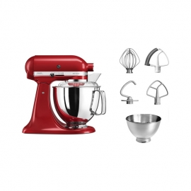 KitchenAid 5KSM175PS Artisan 4.8 Litre Stand Mixer Empire Red