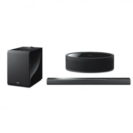 Yamaha MusicCast 5.1 Package with MusicCast Bar 40 MusicCast 50 and Muscicast Sub 100 In Black