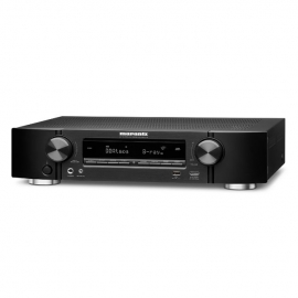 Marantz NR1710 Slim 7.2Ch 4k Ultra HD AV Receiver with HEOS Built-in Black Side