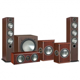 Denon AVCX6500H AV Receiver Silver with Monitor Audio Bronze 6 AV 5.1 Speaker package Rosemah