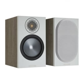 Monitor Audio Bronze 6G Bronze 100 Bookshelf Speakers Urban Grey Pair