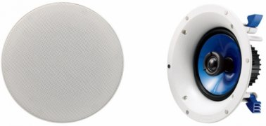 Sonos CONNECT:AMP Wireless Amp with Yamaha NSIC600 In-Ceiling Speakers in White (Pair)
