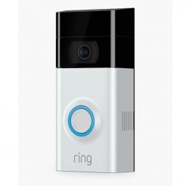 Ring Video Doorbell 2 Smart Video with Camera and Wi-Fi Enabled