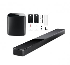 Bose Soundbar 700 with Wall Bracket and Bass Module 700 Subwoofer in Black
