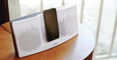Bose SoundDock XT Speaker in White and Grey