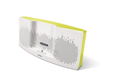 Bose SoundDock XT Speaker in White and Yellow