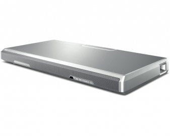 Yamaha SRT-1500 5.1 Channel Sound Base in Silver with MusicCast and Digital Sound Projector