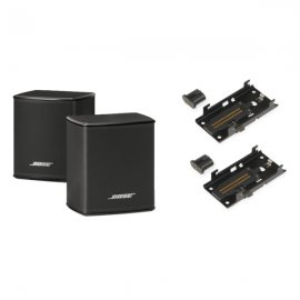 Bose Surround 300 Speakers with Wall Brackets in Black