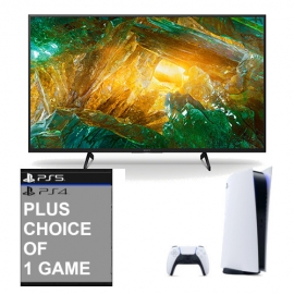 Sony KD85XH8096BU BRAVIA 85 Inch LED 4K HDR Android TV with Sony Playstation 5 Console with Sony Playstation Game