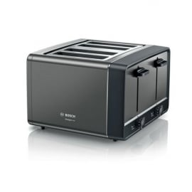 Bosch TAT5P445GB 4 Slice Toaster In Anthracite Main Image