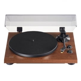 TEAC TN-280BT 2-speed Analog Turntable with Phono EQ and Bluetooth In Walnut