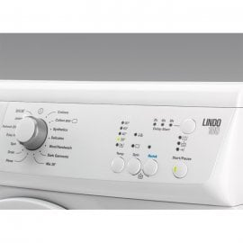 Zanussi ZWF71340W LINDO100 7Kg Washing Machine in White with 1400rpm Spin