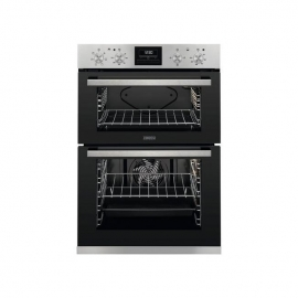 Zanussi ZOA3566OXK Built in Electric Double Oven Stainless Steel