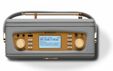 Roberts Revival iStream 2 Dab and Wifi Internet Radio with Music Player and Spotify Connect Dove Grey