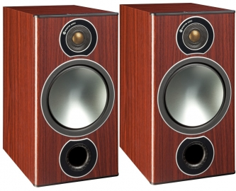 Marantz Melody X MCR612 HiFi Network System Silver Gold with Monitor Audio Bronze 2 Speakers in Rosemah