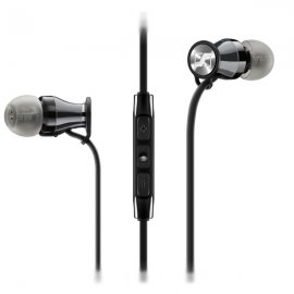 Sennheiser MOMENTUM-M2 IEi for Apple devices - Black and Chrome