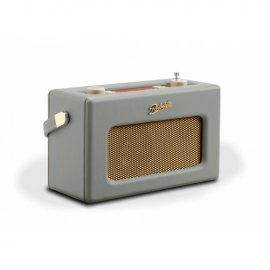Roberts RD70DG DAB+ DAB FM Revival Radio with Bluetooth in Dove Grey Side