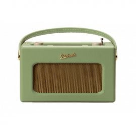 Roberts Revival RD70 Dab+ Dab Fm Radio with Bluetooth in Leaf Green