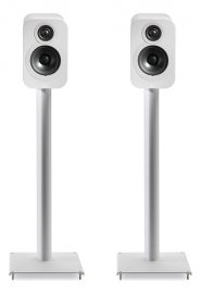 Q Acoustics 3000ST Speaker Stands for 3010 and 3020 speakers in White Pair